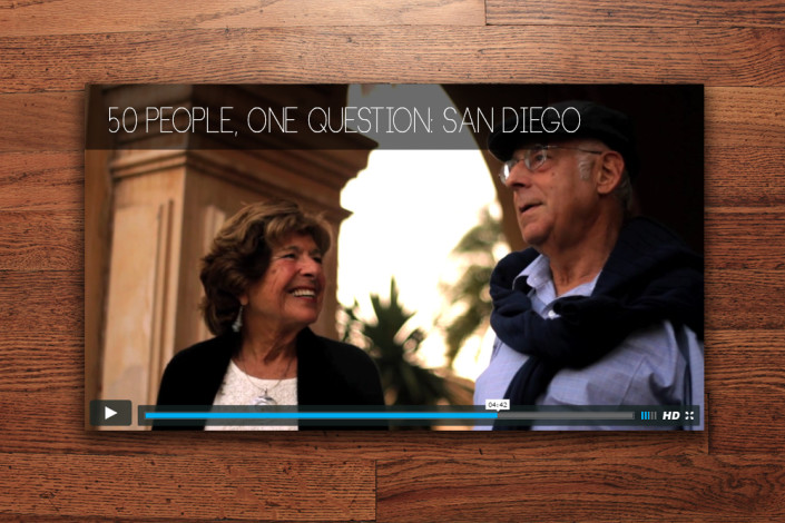 Fifty People, One Question: San Diego