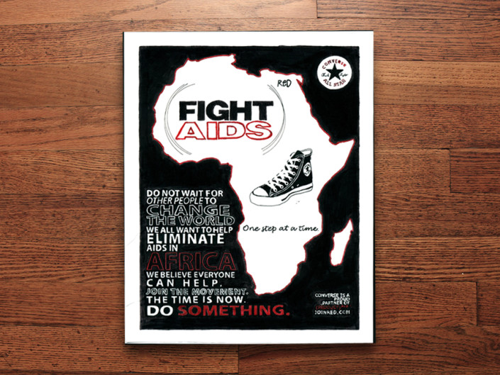 Fight Aids Poster